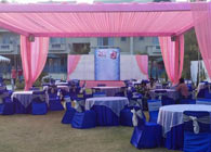 Outdoor Marriage Function - Humming Bird Resort