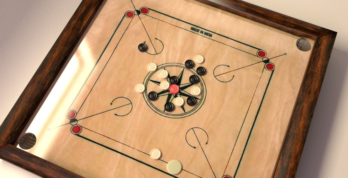 Carrom Board - Humming Bird Resorts